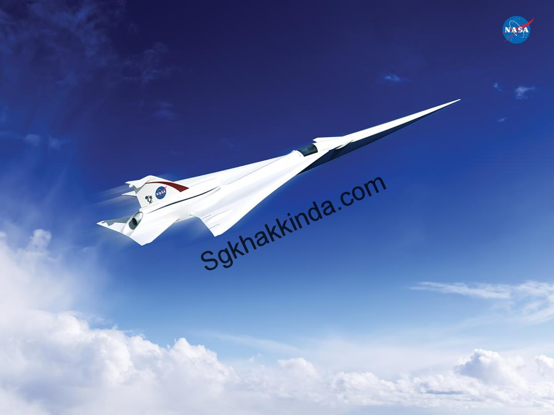 16 022 supersoniccontract - NASA Wants to Build a 'Quieter' Supersonic Jet