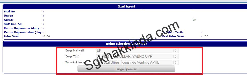 E bildirge ek4 - E-bildirge'de ek belge nasıl düzenlenir?