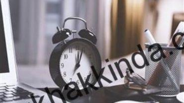 Çalışma saatlerinin değiştirilmesi