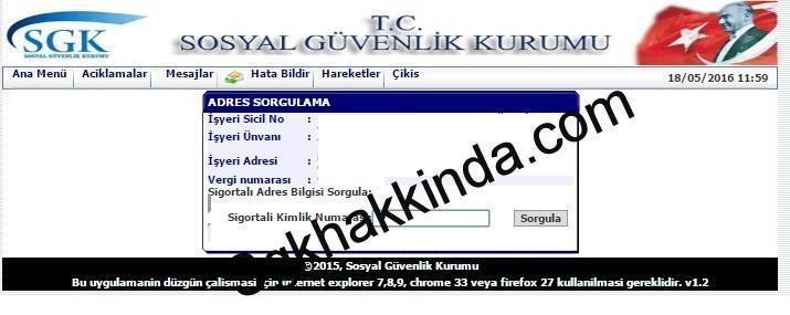 sigortalı adres bilgileri güncelleme 2 - Sigortalı adres bilgilerini güncelleme
