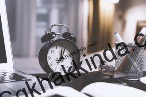 saat 1535377880 300x200 - İşe geç gelme tutanağı örneği