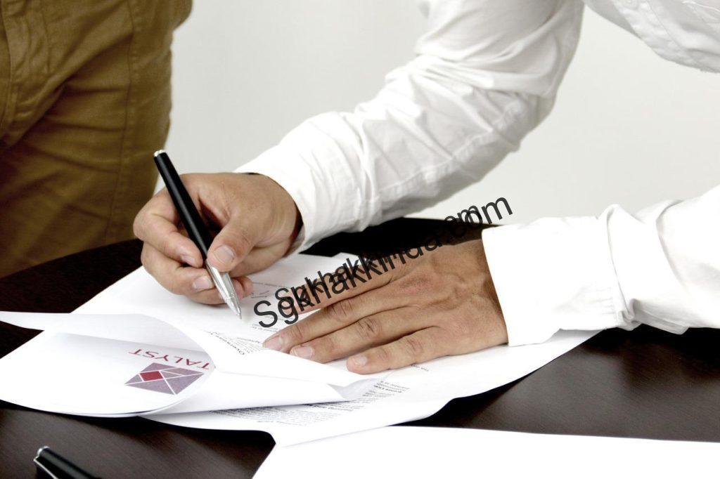 imza 1537163188 1024x682 - İş sözleşmesi imzalamadan çalışmak
