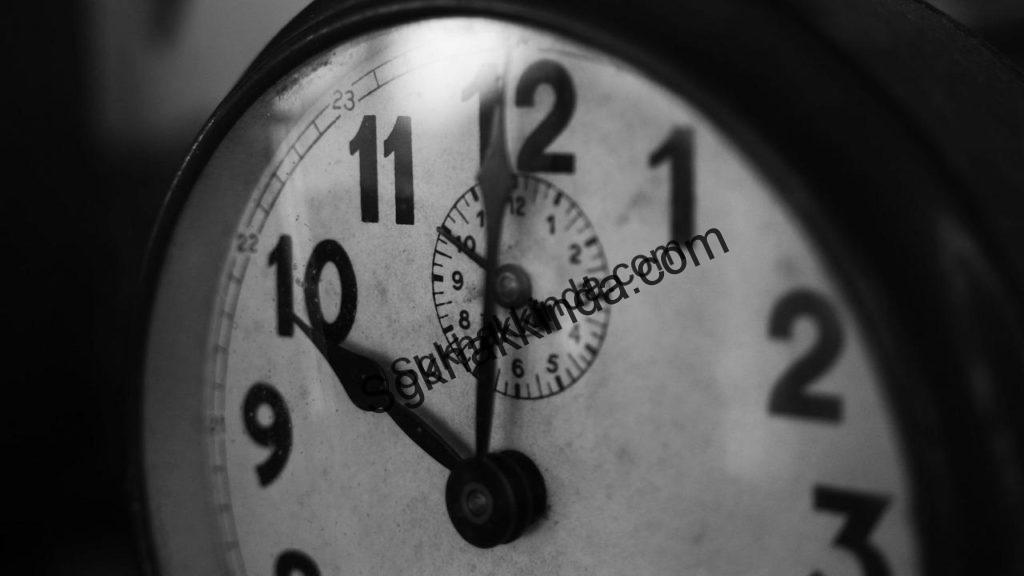saat 1537528387 1024x576 - İşe geç gelen işçinin işten çıkarılması