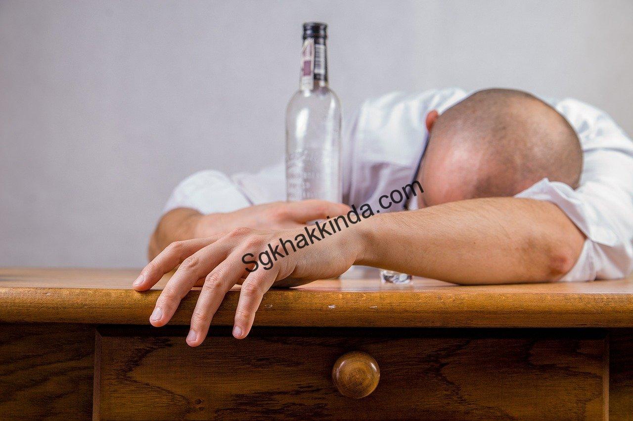 alcohol 1592978729 - İşçinin işyerine alkollü gelmesi